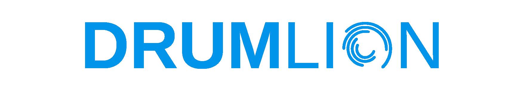 Logo_DrumLion_einfarbig_hellblau-01